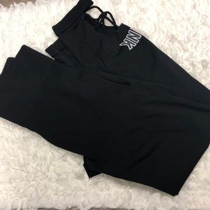 Victoria secret pink cut out pants like new